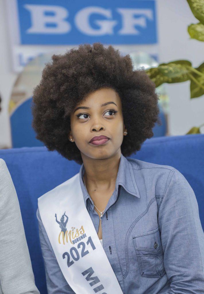 Accueil de Miss Burundi 2021 à la BGF