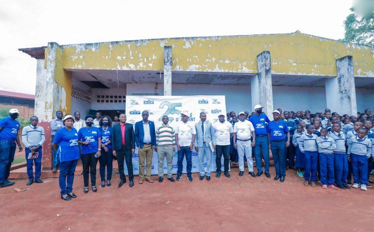 Visite de la BGF à l'Ecole d'excellence de Musinzira à Gitega